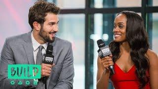 rachel lindsay her fiancé bryan abasolo discuss the bachelorette