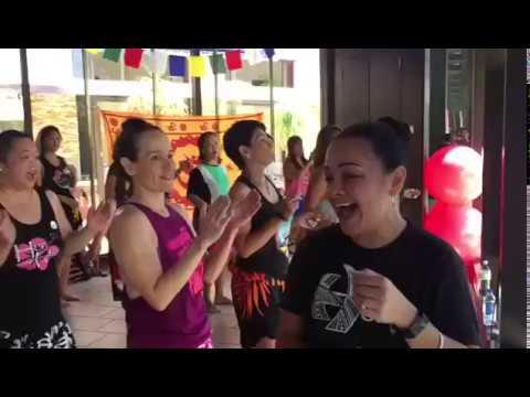 HOT HULA fitness® Instructor Training with Master Trainer Nickie Manibusan Tumon, Guam USA