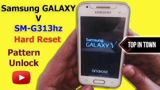Samsung V SM G313HZ hard reset On/Off Problem solved