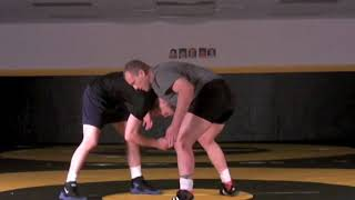 Front Headlock Opponent Counters Low Leg Cradle Attack