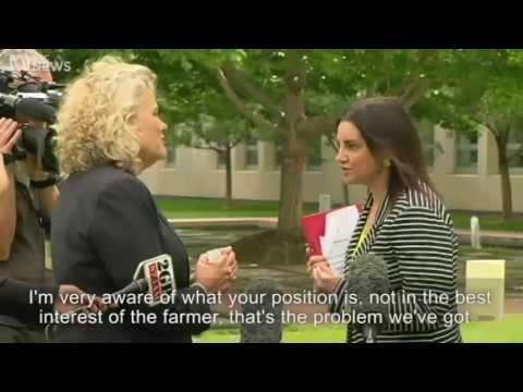 Jacqui Lambies blistering tirade at National Farmers Federation boss   ABC News Australian Broadcast