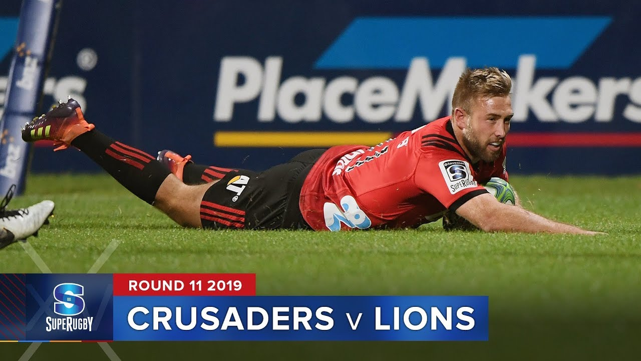 Crusaders v Lions | Super Rugby 2019 Rd 11 Highlights