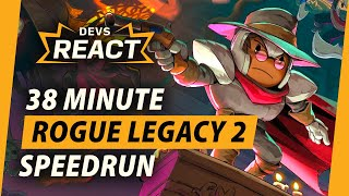 Rogue Legacy 2 Developers React to 38 Minute Speedrun