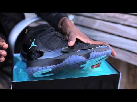 "Air Jordan 11 ""Gamma Blue"" Unboxing"