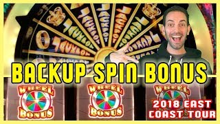 ◀⬅BackUP JACKPOT Spin WIN! 🎰🌐EAST COAST TOUR ✦ Brian Christopher Slots
