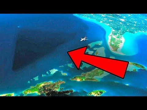 Чудом Выживший Летчик Рассказал, что Он Увидел в Бермудском Треугольнике