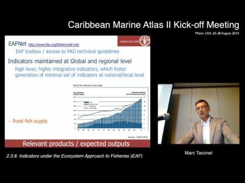 Indicators Under The Ecosystem Approach To Fisheries (EAF) (Marc Taconet)