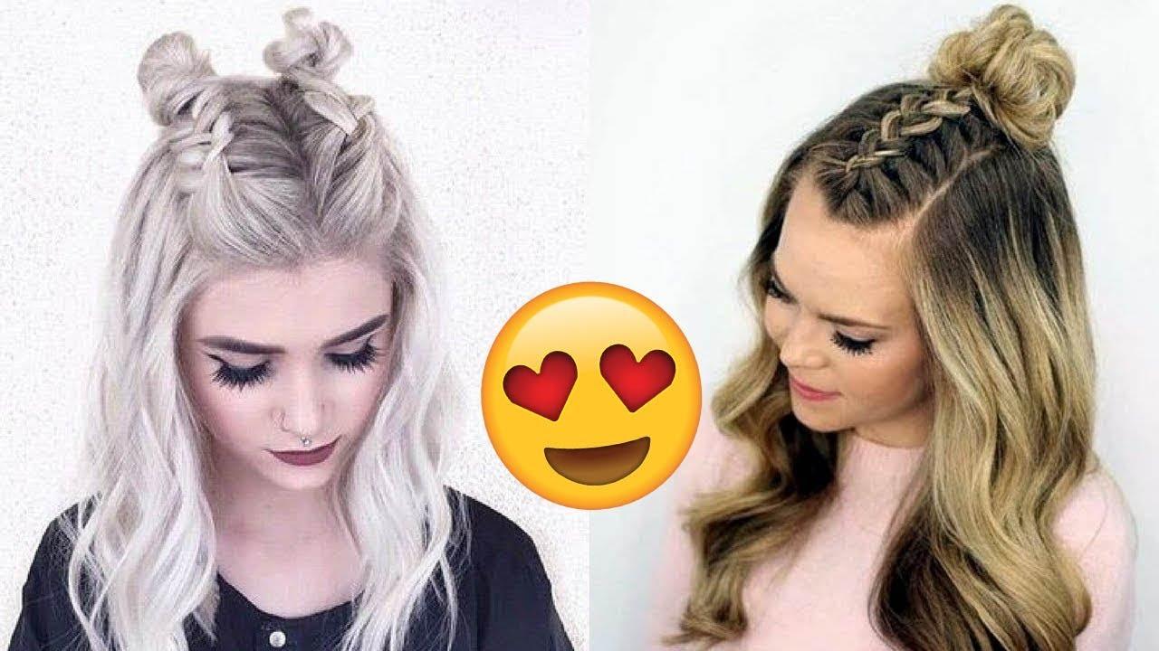6 Peinados Faciles Y Rapidos Para Uso Diario Increibles Peinados
