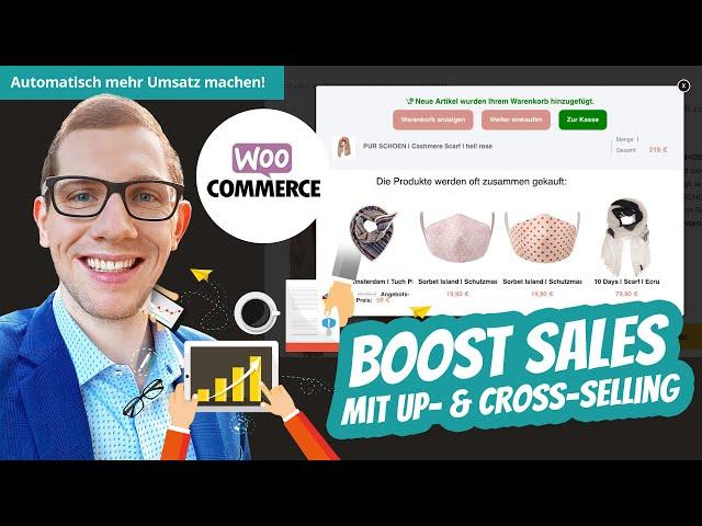 WooCommerce Boost Sales Plugin 💰 Mehr Verkäufe mit Upsell & Cross-Selling PopUps 🛒