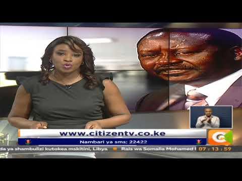 Odinga asema yutayari kuanza kazi kama rais wa watu