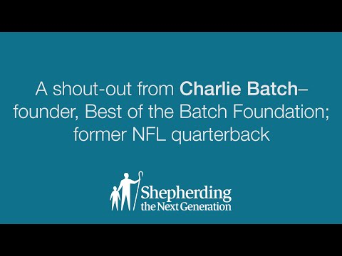 Shout-Out from Charlie Batch - Celebration of Teachers