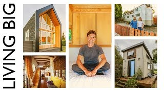 In this video, we explore our top five living big tiny house tour videos of 2018. This year, we have visited so many incredible tiny homes and it was certainly tough ...