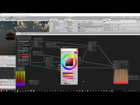 Hair Shader 2 0 + preview HDRP ShaderGraph Version*