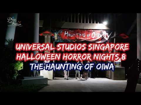 Universal Studios Singapore Halloween Horror Nights 2018 The Haunting of Oiwa