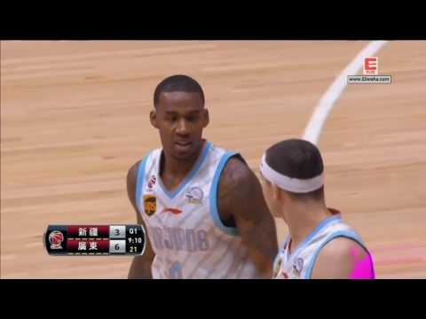 CBA Playoff Final Game 2 Xingjiang VS Guangdong 4/2