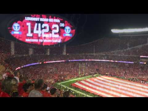 World Record Night....Monday Night Football Chiefs vs. Patriots 9-29-14