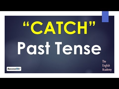 Past tense of 'Catch' and other Forms of Verb
