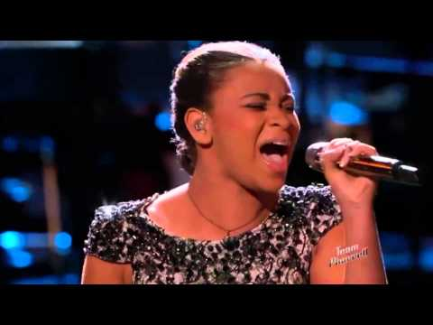 The Voice American 2015 - Playoff -  Koryn Hawthorne - How Great Thou Art - Top The Voices