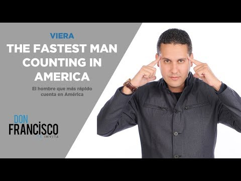 The fastest man counting in America