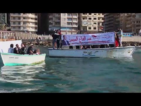 فيديو: شوارع مصر تكتسي بلافتات لتأييد عبد الفتاح السيسي  - نشر قبل 1 ساعة