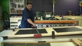 Making a recycled hardwood paling door with Dowelmax Part 2
