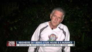 Bern's Steak House trash sparking odor, noise complaints from neighbors