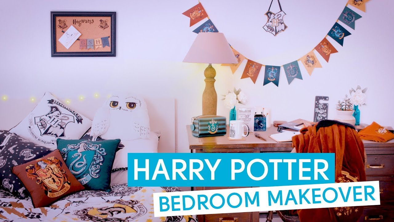 Primark Harry Potter Bedroom Makeover