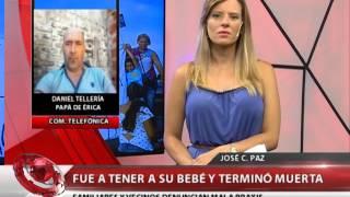 QM NOTICIAS - JOSE C  PAZ DENUNUNCIAN MALA PRAXIS A UNA EMBARAZADA