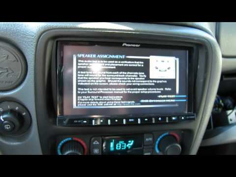 Pioneer AVH-P4100DVD and DEQ-P8000 with Dolby Digital DTS Surround Sound 5.1 in Car