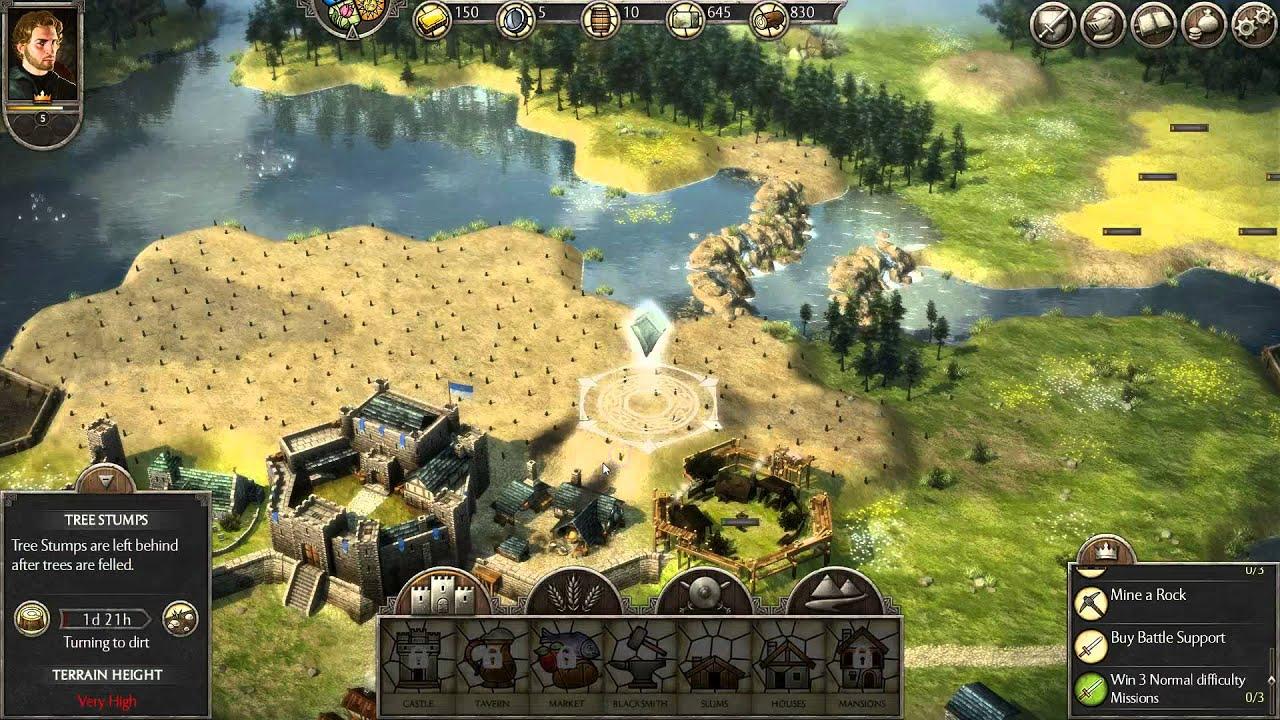 Medieval Castle Building Games Online
