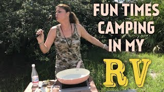 WOW THIS IS THE FREE FLORIDA RV LIFE FUN CAMPING DAY