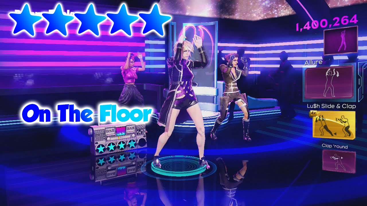 Dance Central 3 - On The Floor - 5 Gold Stars - YouTube