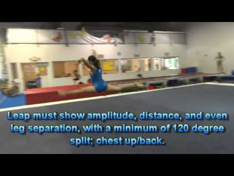 USAG Level 4 Floor Exercise Tutorial: New Routines 2013-2021