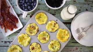 Breakfast Recipes - How To Make Scrambled Egg Muffins