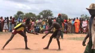 Nuba Moro Wresting