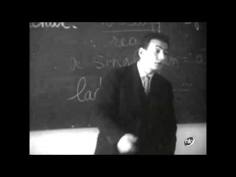 English lesson in a French school 1950s