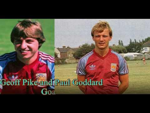 Geoff Pike and Paul Goddard Goals