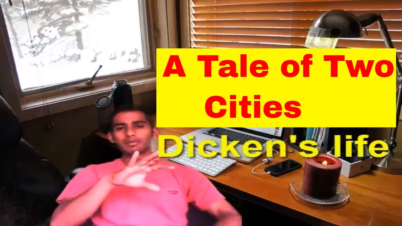 Ugc Neta Tale Of Two Cities Video By Charles Dickens English Literature Study With Kaushik