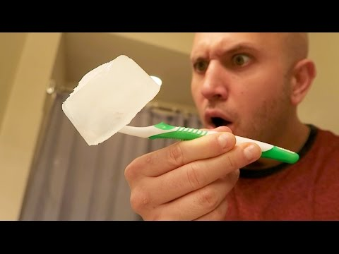 FROZEN TOOTHBRUSH PRANK - HOW TO PRANK QUICKIE