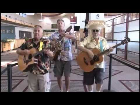 Singing Sons Of Beaches - TSA Airport Security Tips Parody From Glacier Park (Montana) Airport
