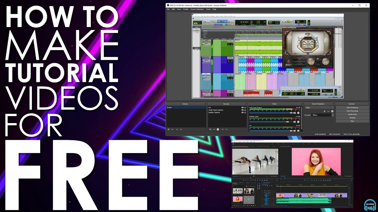 How to Make Pro Tools (or any DAW) and Plugin Tutorials for