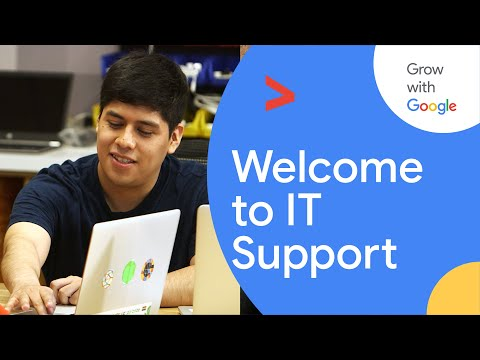 Welcome to Information Technology | Google IT Support Certificate