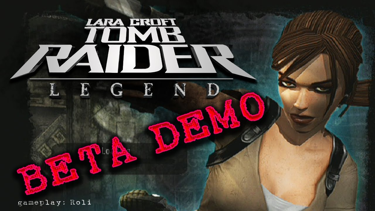 Tomb Raider Legend Ps2 Beta Demo Youtube