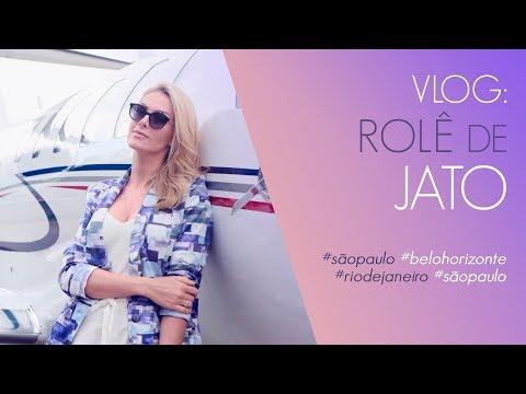 VLOG - ROLÊ DE JATO  ANA HICKMANN
