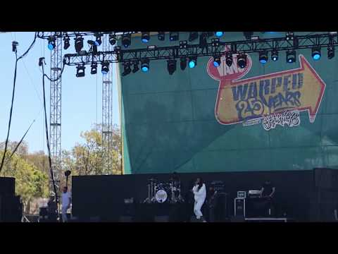 Travie McCoy - Stereo Hearts (Gym Class Heroes song live Warped 25 Mountain View 7/20/2019)