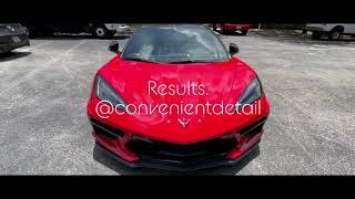 Corvette C8 ceramic coating