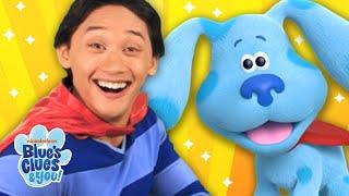 Josh and Blue's Superhero Skidoo | Blue's Clues & You!