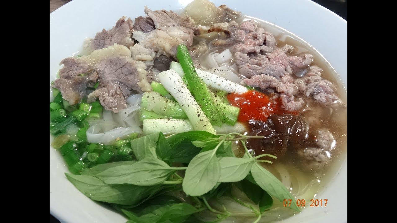 PHỞ BÒ – Chủ Tiệm Phở chia sẻ Bí quyết nấu Phở Bò ngon đúng vị by Vanh Khuyen