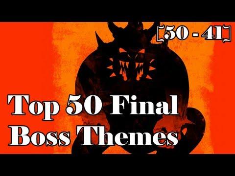 Top 50 Final Boss Themes Part 1 [50 - 41]