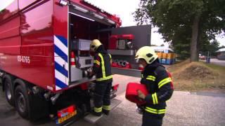 Brandweer Drenthe neemt afscheid van de brandkraan